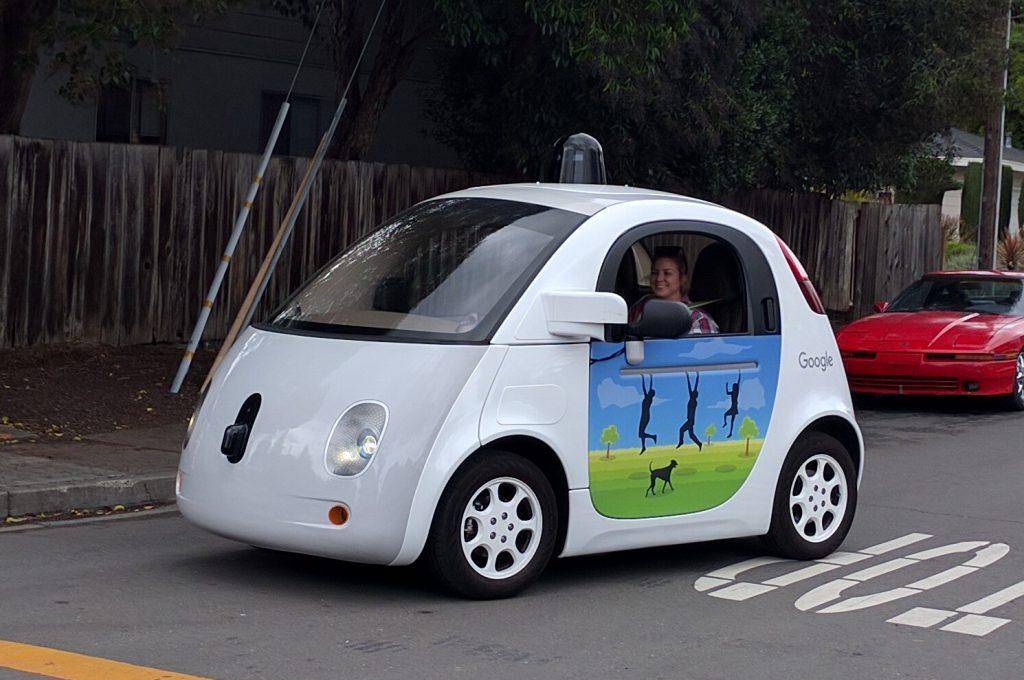self driving car test drive