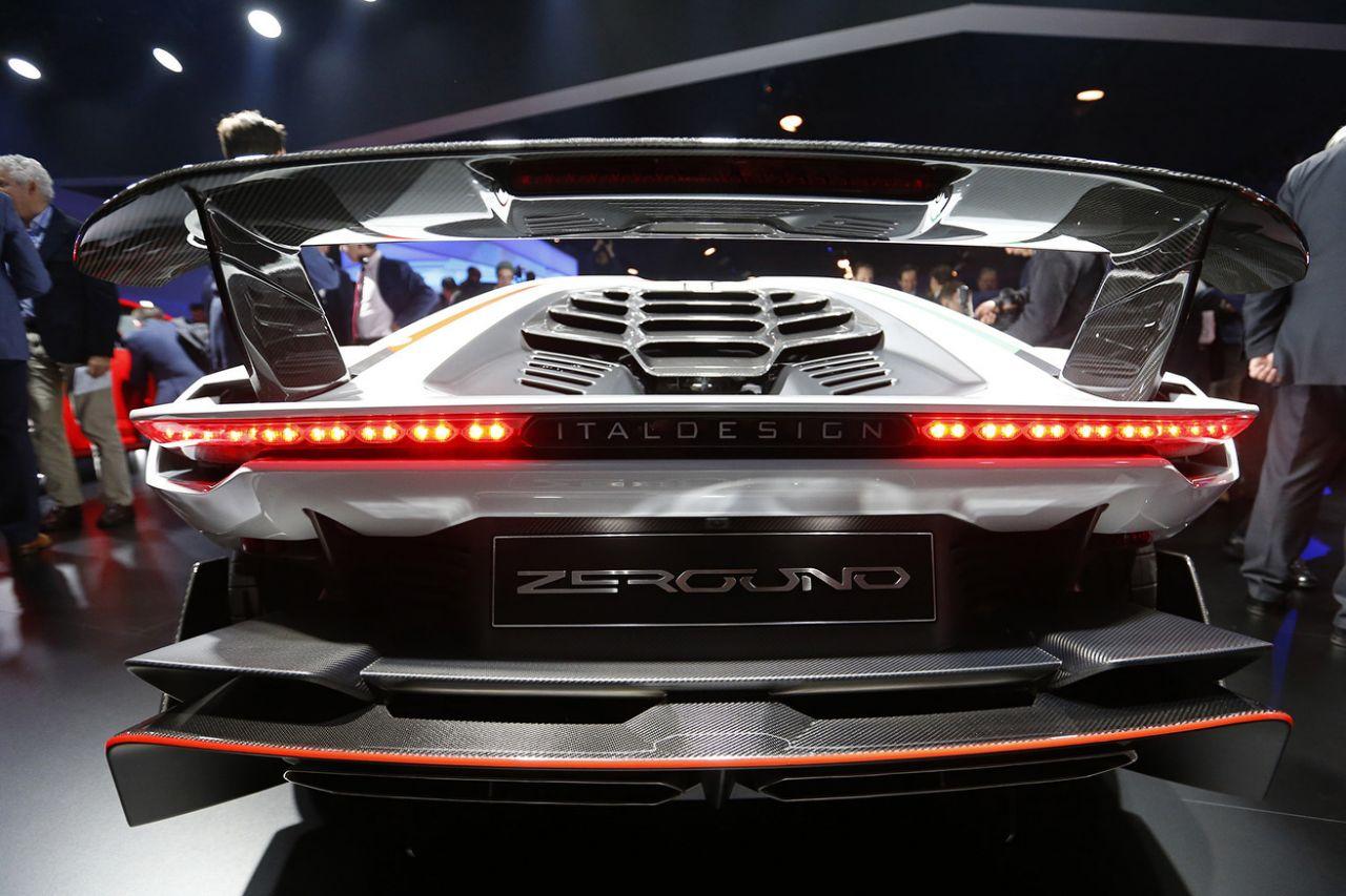 zeroing Italdesign Geneva Auto Show 2017