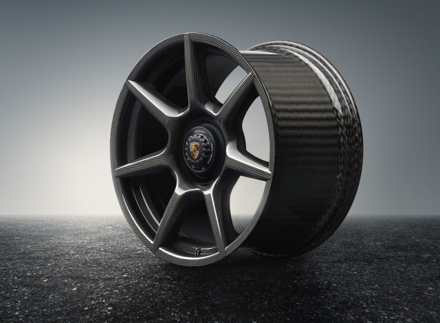porsche carbon-fiber wheels
