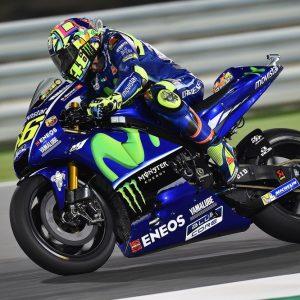 Valentino ROSSI ITA Movistar Yamaha MotoGP YAMAHA MotoGP GP Qatar 2017 (Circuit Losail) 23-26/03.2017 photo: MICHELIN